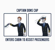 Captain Dons Cap by taconaco