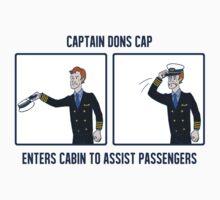 Captain Dons Cap by taconaco