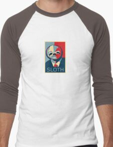 Sloth Men's Baseball ¾ T-Shirt