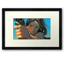Archer-girl Framed Print