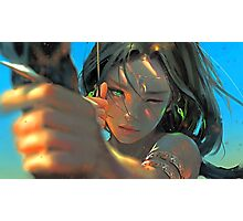 Archer-girl Photographic Print