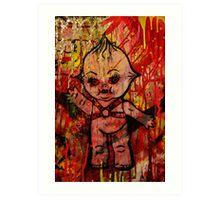 Kewpie Cannibal   Art Print