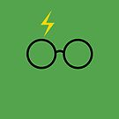 Harry Potter - Minimalist (Slytherin Green) by runswithwolves