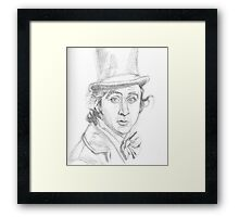 The Candy Man Framed Print