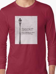 Narnia Lamp Post Long Sleeve T-Shirt