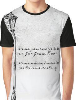 Narnia Lamp Post Graphic T-Shirt