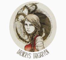 Daenerys Targaryen · t-shirt by Elia Mervi