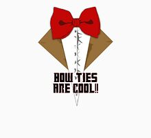 Bow Ties are cool! Womens Fitted T-Shirt