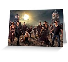 The vampire diaries-cast Greeting Card