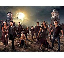 The vampire diaries-cast Photographic Print