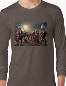 The vampire diaries-cast Long Sleeve T-Shirt