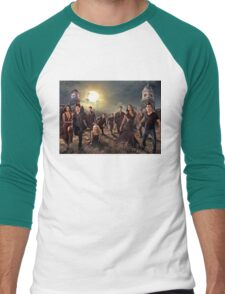 The vampire diaries-cast Men's Baseball ¾ T-Shirt