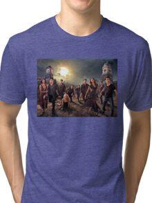 The vampire diaries-cast Tri-blend T-Shirt