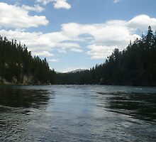 Yellowstone River by Caitlan