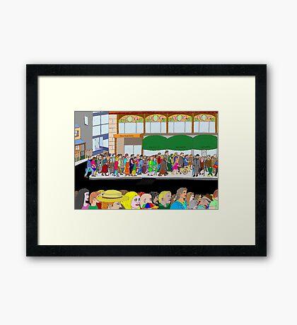 A Sense of Belonging Framed Print