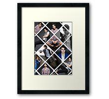 Photoshoot Darren ;) Framed Print