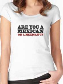 One Upon A Time In Mexico - Are You A Mexican Women's Fitted Scoop T-Shirt