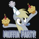 Derpy's muffin party! by maxmontezuma