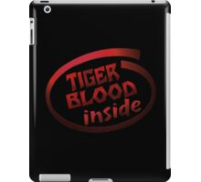Tiger Blood inside iPad Case/Skin