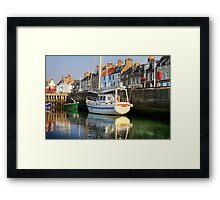 Anstruther boat Framed Print