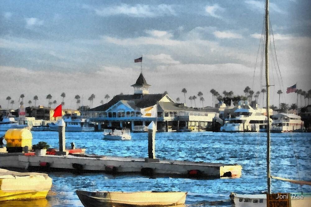 Balboa Pavilion Newport Beach, California by Joni  Rae