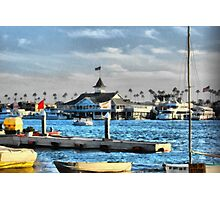 Balboa Pavilion Newport Beach, California Photographic Print