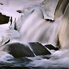 Cascade, Bristol Mills Maine by Dave  Higgins