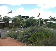 Broken Hill hospital the front Photographic Print