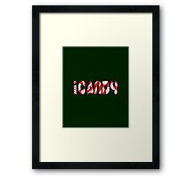iCANDY Framed Print