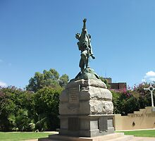 Broken Hill ANZAC war memorial by Heather Dart