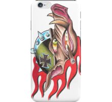 Flaming Hog iPhone Case/Skin