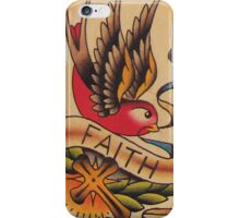 Faith Swallow iPhone Case/Skin