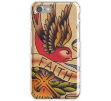 Faith Swallow iPhone Case/Skin