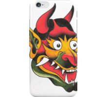 Old School Devil Head iPhone Case/Skin