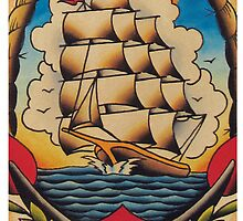Clipper Ship by MikeFrench