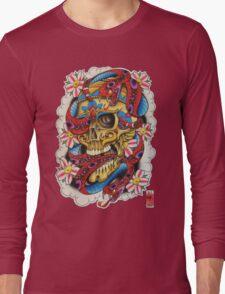 Skull and Snakes Long Sleeve T-Shirt
