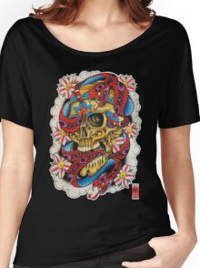 Skull and Snakes Women's Relaxed Fit T-Shirt