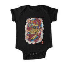 Skull and Snakes One Piece - Short Sleeve
