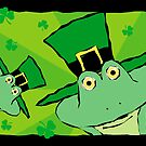 St. Patrick's Day Leprechaun Frogs by NestToNest