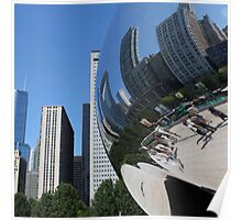 'The Bean', Chicago III Poster