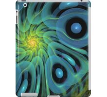 The Blue Bubbles wrap, abstract iPad case iPad Case/Skin