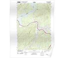 USGS TOPO Map New Hampshire NH Littleton 20120615 TM Poster