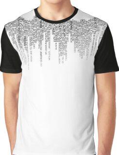 Jaws - Quint's Speech Graphic T-Shirt