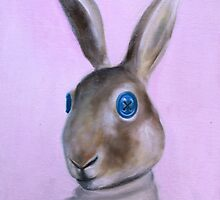rabbit head by KingVitaman
