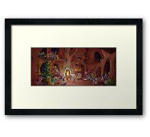 Christmas Scene Framed Print