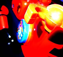 robot surprise attack by Chrisalbert