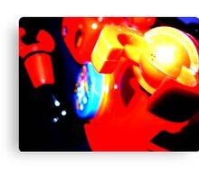 robot surprise attack Canvas Print