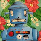 Robot flowers by KingVitaman