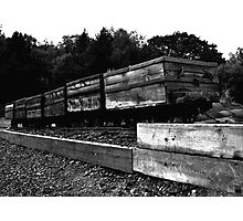 Coal Wagons Photographic Print