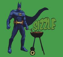 Super Sizzle Summer BBQ Hero Time Baby Tee